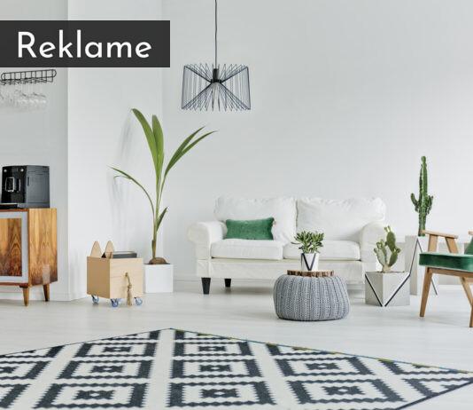 Sådan skaber du rene linjer i din boligindretning