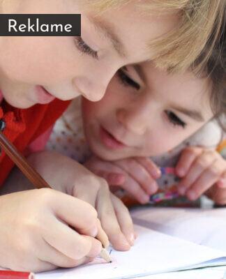 børn, der tegner